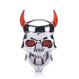 Devil Mask LED Conspicuous Portable Bicycle Light