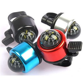 Mini Aluminum Alloy Bike Bell Loud Crisp Clear Sound Bike Ring