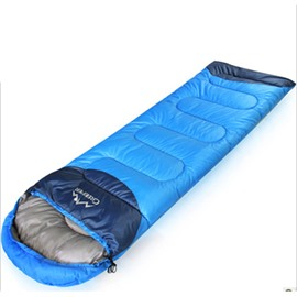 Blue Comfort Ultralight Tapered Camping Envelope Sleeping Bag