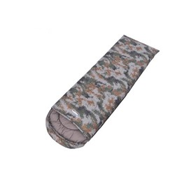 Camouflage Portable Waterproof Cold-Weather Sleeping Bag for Adults