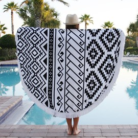Vintage Mandala Style Outdoor Multi Usage Beach Throw Mat
