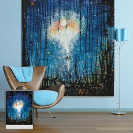 Oil Painting Dreamlike Scenery Printing Blackout 3D Roller Shades