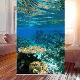 Wonderful Underwater World 3D Printed Roller Shades