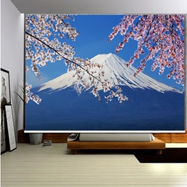 Famous Mount Fuji Scenery 3D Printed Roller Shades