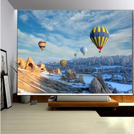 Colored Hot Air Balloon 3D Printed Roller Shades