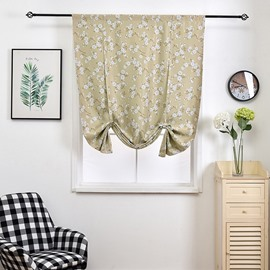 Little Floral Pastoral Style Printed Shade for Decoration
