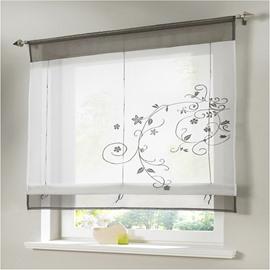 Classic Shade Plain Style Kitchen Bathroom Window Decor