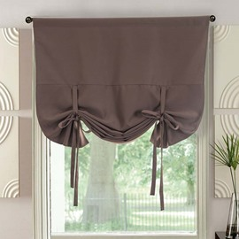 High Quality Solid Color Modern Elegant Blackout Roman Shades