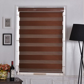 Horizontal Window Shade Blind Zebra Dual Roller Blinds Day and Night Blinds Curtains Easy to Install