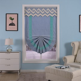 Versatile and Decorative Thick Polyester Bedroom and Living Room Roman Shade