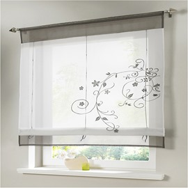 Classic Shade Plain Style Kitchen Bathroom Window Decor