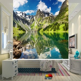 Spectacular Water and Mountain 3D Printed Blackout Roller Shades