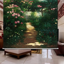 Fantastic Path in the Jungle 3D Printed Roller Shades