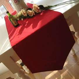 New Arrival Red Table Cloth Desktop Decoration