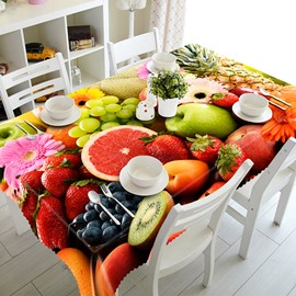 Creative Design Fruit Pattern 3D Tablecloth