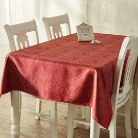 Superior Luxury Rectangle Cotton Machine Washable Decorative Tablecloth