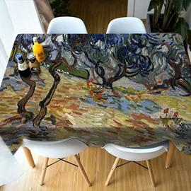 Multicolor Realistic Design Surprise Party 3D Tablecloth