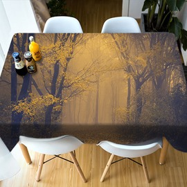 Print European Style Parties&Picnics Vivid Color 3D Tablecloth