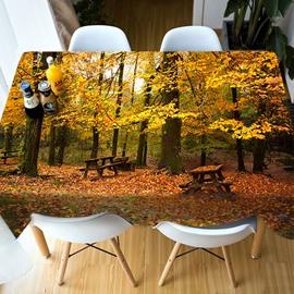 Parties&Picnics European Style Vivid Color 3D Tablecloth