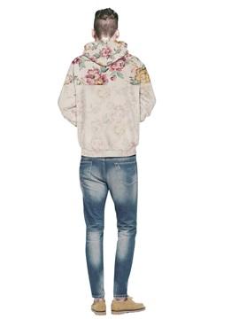 Amazing Long Sleeve Flower Pattern 3D Painted Hoodie