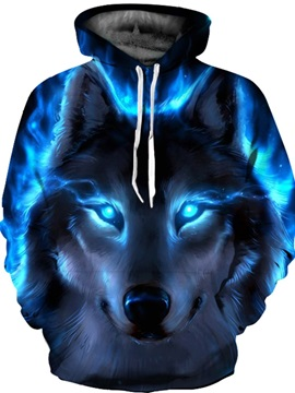 Vibrant Color Lightweight Loose Model Realistic Print 3D Painted Hoodie