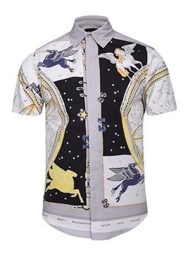 Quick-Dry Lightweight Vibrant Color Cool Design 3D Painted Shirt