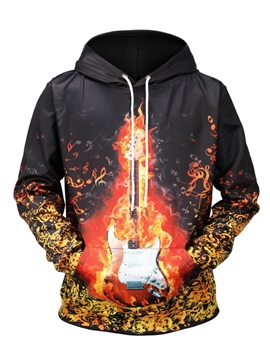 Cool Design Realistic Printed Graphic Pullover Kangaroo Pocket 3D Painted Hoodie