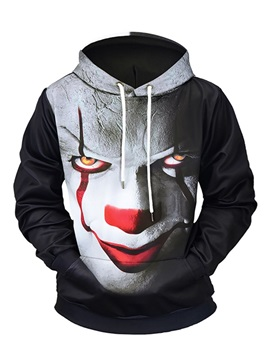 Loose Model Vibrant Color Lightweight Digital Graphic 3D Painted Hoodie