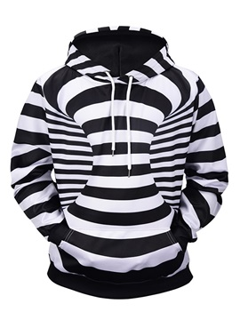 Casual Style Realistic Cool Design Lightweight 3D Painted Hoodie