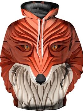 Cool Design Loose Model Unisex Fastness 3D Painted Hoodie