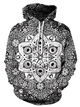 Vibrant Color Pullover Fastness Cool Design 3D Painted Hoodie