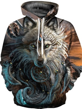 Cool Design Realistic Pullover Lightweight Workout 3D Painted Hoodie
