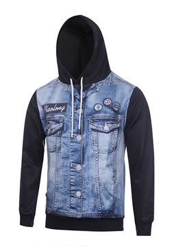 Casual Style Pullover Vivid Color Loose Model Workout 3D Painted Hoodie
