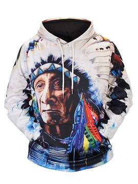 Fastness Lightweight Loose Model Polyester Cool Design 3D Painted Hoodie