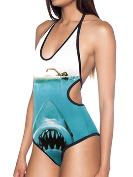 Beddinginn Animal Print Western One Piece Women's Swimwear