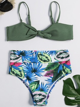Beddinginn Print Floral Bikini Set Western Women's Swimwear