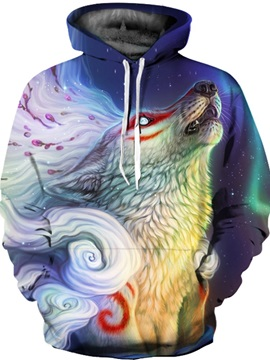 Funny Printed Graphic Unisex Drawstring Pullover 3D Painted Hoodie
