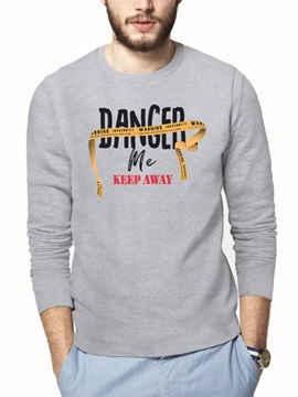 Long Sleeve Print Casual Style Loose Model 3D T-Shirt