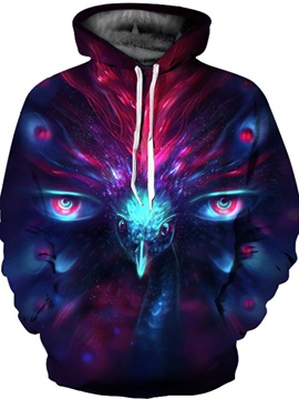 Cool Printed Graphic Unisex Pullover Athletic Couple 3D Painted Hoodie