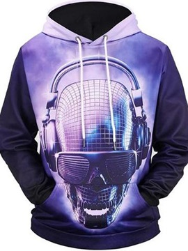 Printed Pattern Workout Lightweight Vibrant Color 3D Painted Hoodie