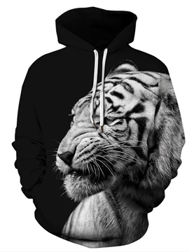 Pullover Printed Graphics Loose Model Unisex 3D Painted Hoodie