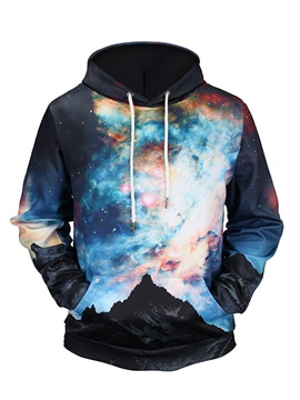 Pullover Lightweight Unisex Cool Design 3D Painted Hoodie