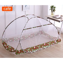 47L*39W Folding Polyester Camouflage Laced Two Openings Bed Net