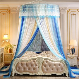Extended Dream Princess Style Polyester Hanging Bed Nets/Canopy