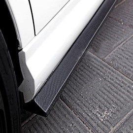 Special Car Models Long Carbon Fiber Extension Side Skirts
