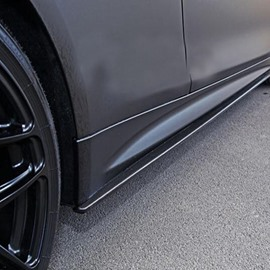 Special Decoration Design Cool Carbon Fiber Car Side Skirts