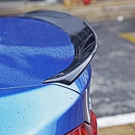 Sport Streamline Design Carbon Fiber Trunk Rear Spoiler