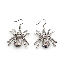 Spider Shape Halloween Fashion Earring for Women