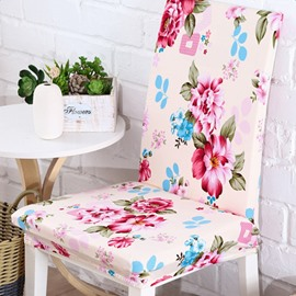 Gorgeous Modern Style Flower Pattern 2 Pieces Four Seasons Decorative Chair Covers