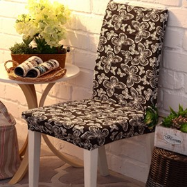 Charming Polyester Butterflies Pattern Reactive Dyeing Four Seasons 2 Pieces Chair Covers